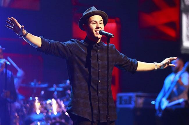 Nick Jonas, 2014.