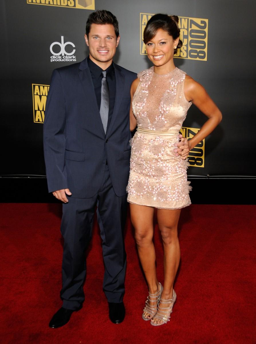 Nick Lachey & Vanessa Minnillo, 2008