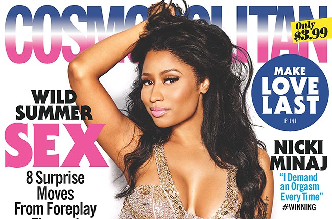 Nicki Minaj Cosmo Cover