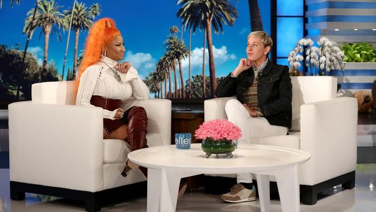 Nicki Minaj On Ellen Talks Travis Scott Queen Album Billboard Billboard
