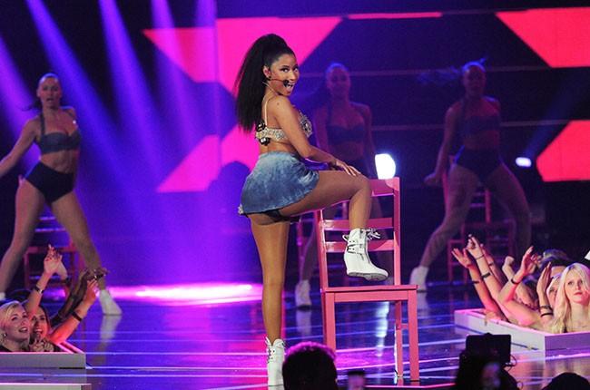 Nicki Minaj, Fashion Rocks 2014.