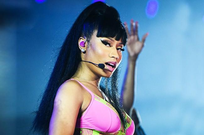 Nicki Minaj performs at the iHeartRadio Pool Party in Las Vegas in May, 2015.