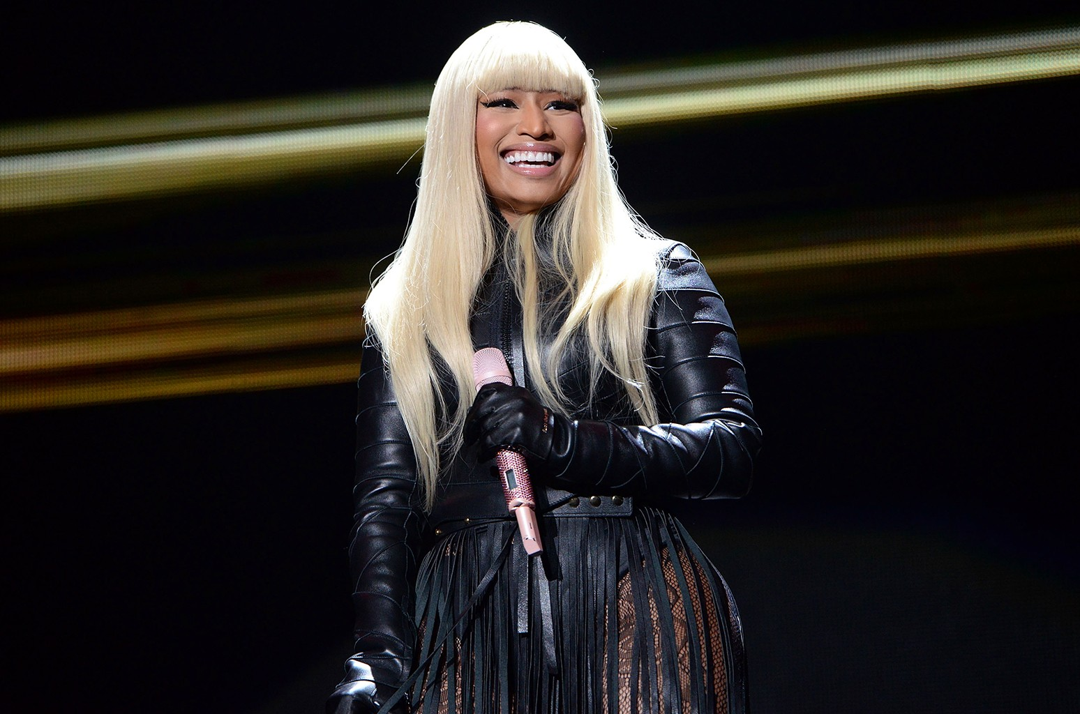 Nicki Minaj performs at The Forum