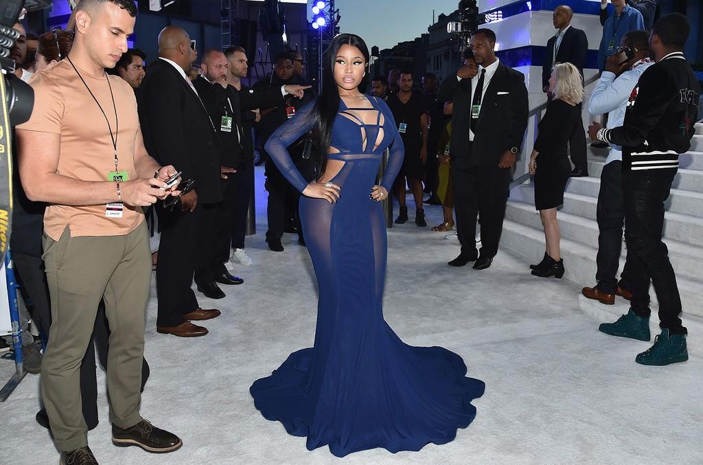 Nicki Minaj attends the 2016 MTV Video Music Awards