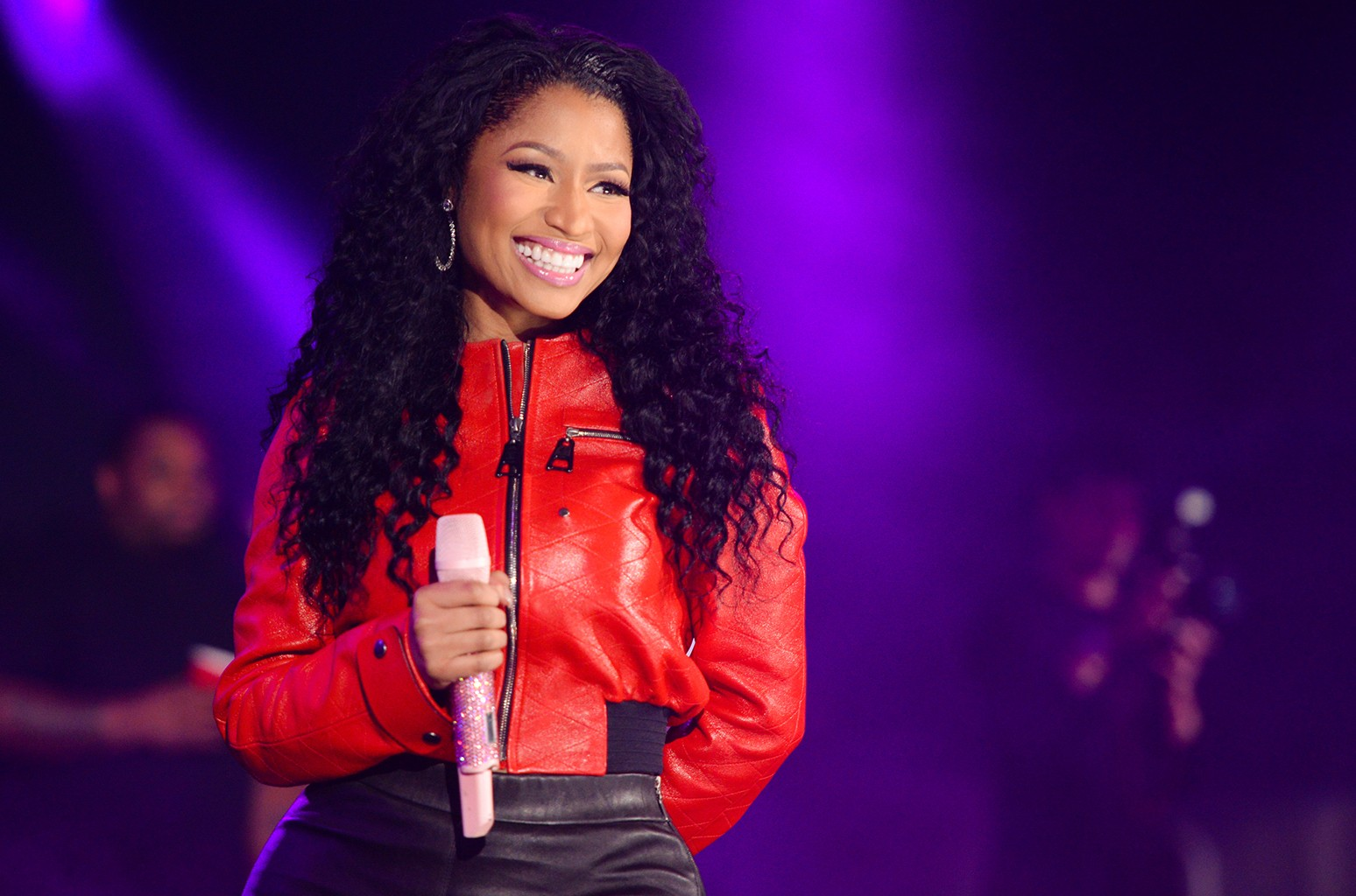 Nicki Minaj performs at MetLife Stadium