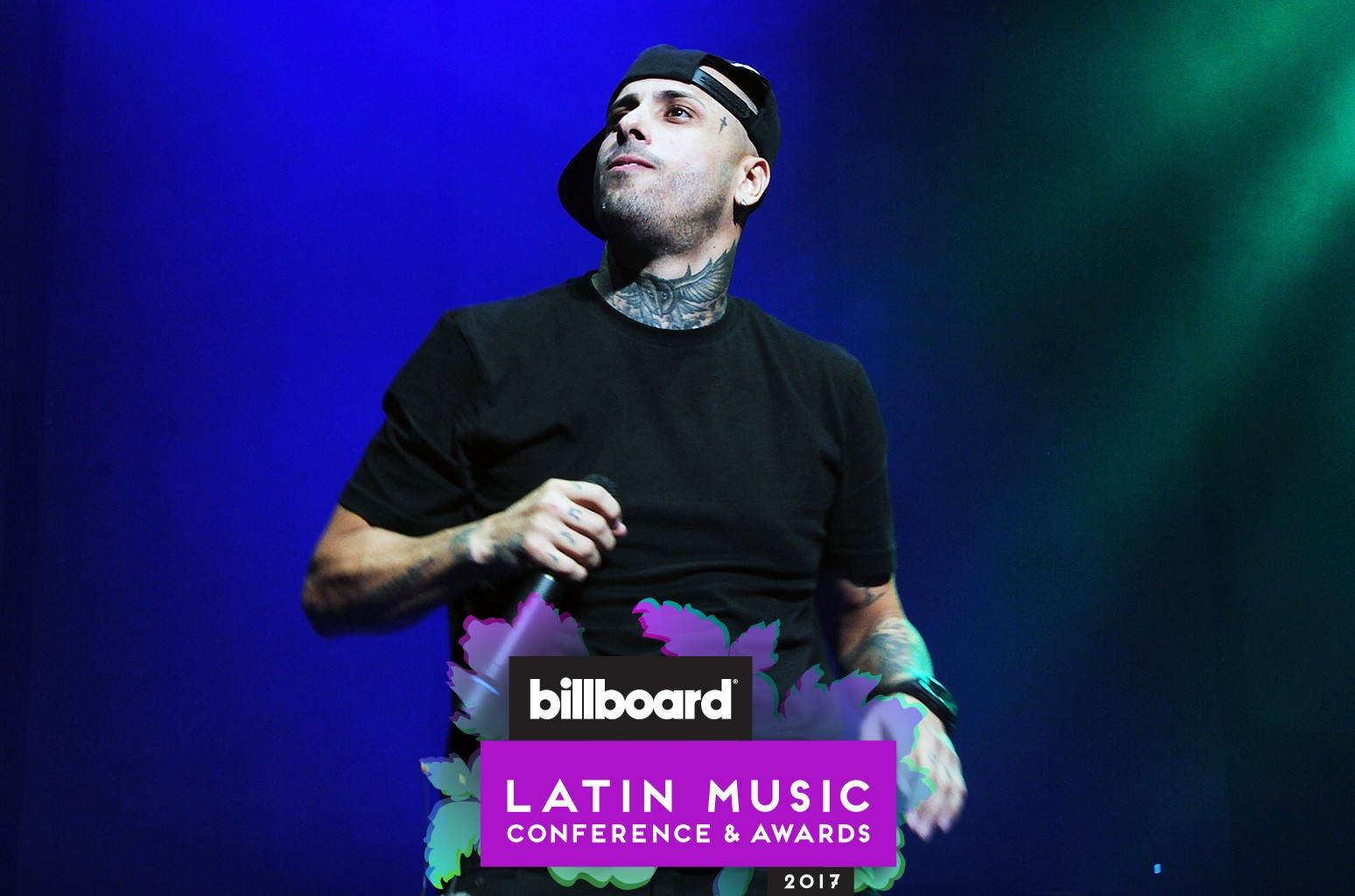 Nicky Jam performs at Coliseo Jose M. Agrelot on Sept. 18, 2015 in San Juan, Puerto Rico.