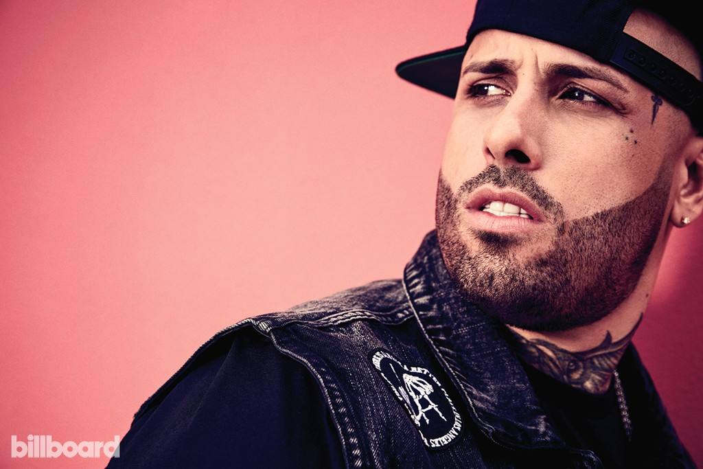 Nicky Jam photographed on April 17, 2017 in Miami. Styling by Shannon Adducci.