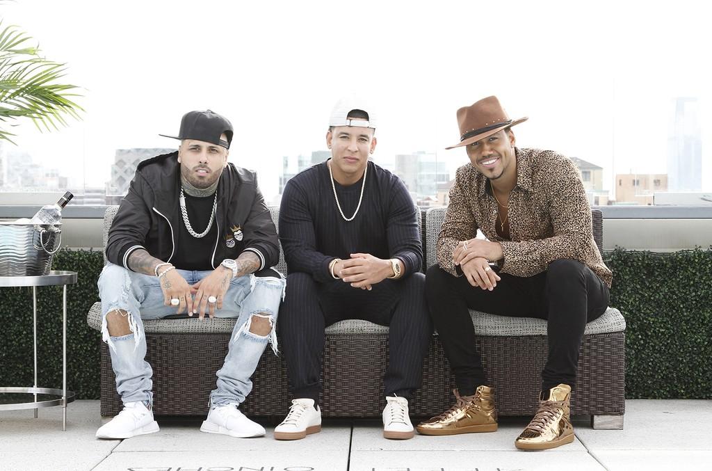 Nicky Jam, Daddy Yankee and Romeo Santos