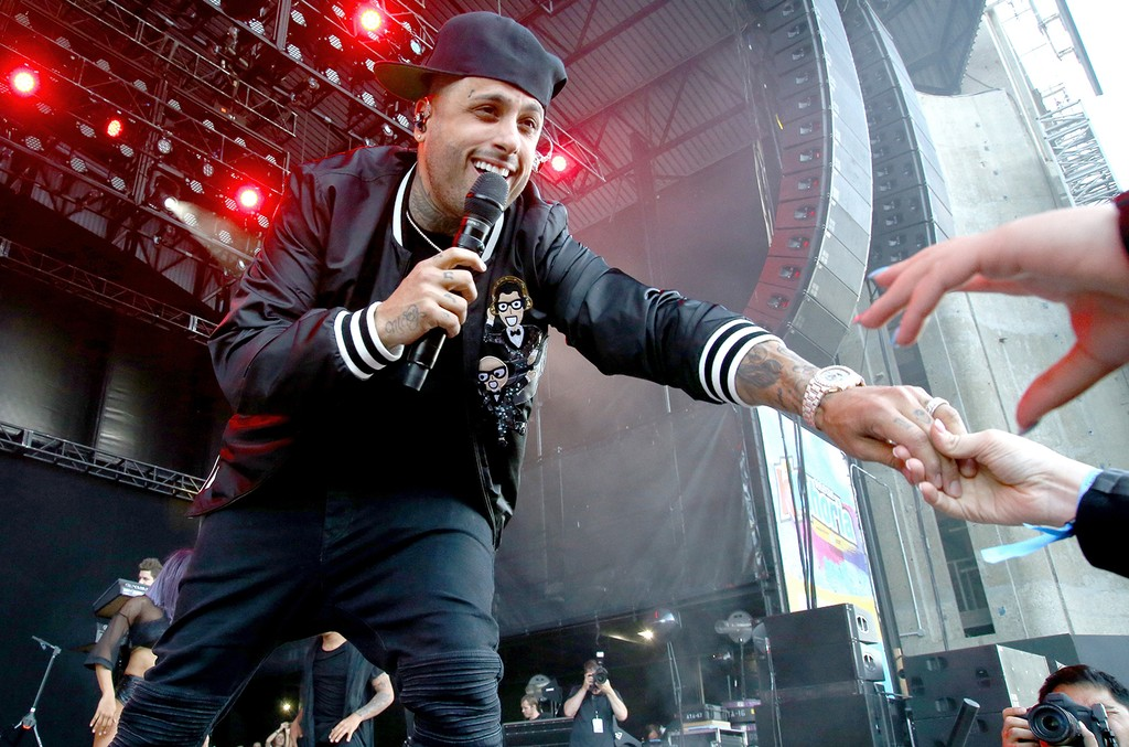 Nicky Jam performs onstage at KTUphoria 2017 at Nikon at Jones Beach Theater on June 3, 2017 in Wantagh, New York.