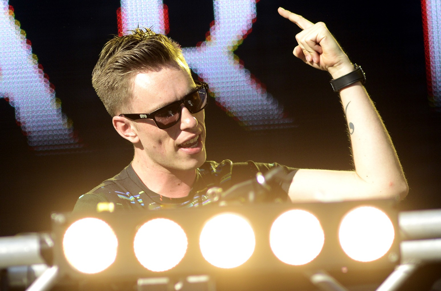 Nicky Romero performs in 2015