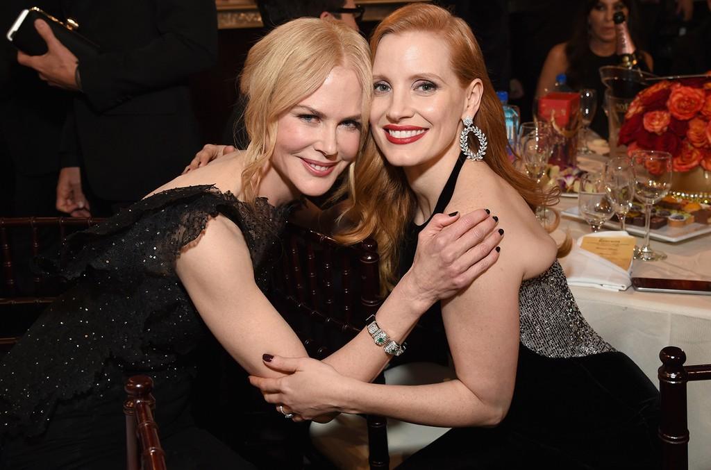 Nicole Kidman & Jessica Chastain, 2018