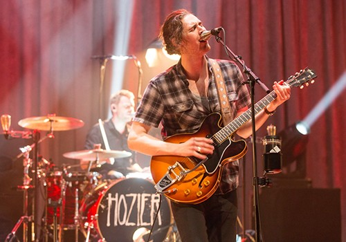 Hozier performs at the Theatre at Ace Hotel