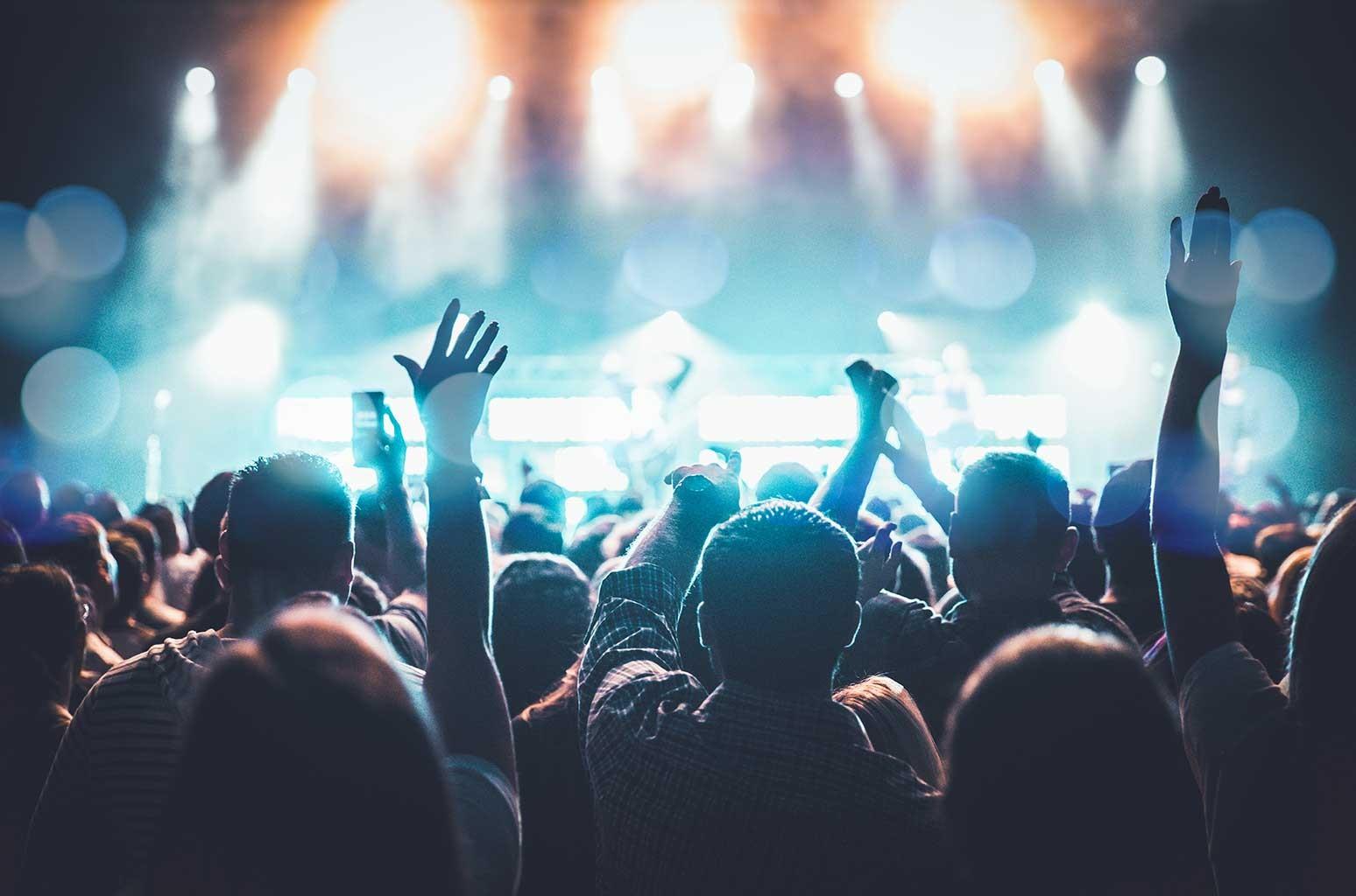 Nightlife music venue