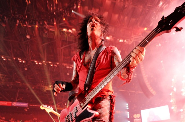 Nikki Sixx at iHeartRadio 2014