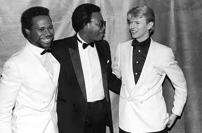 Nile Rodgers David Bowie