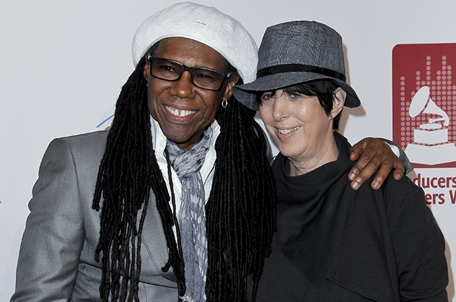 Nile Rodgers and Diane Warren
