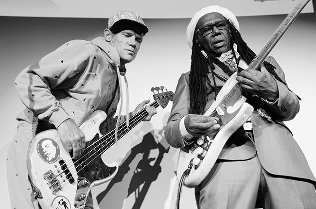 Flea and Nile Rodgers