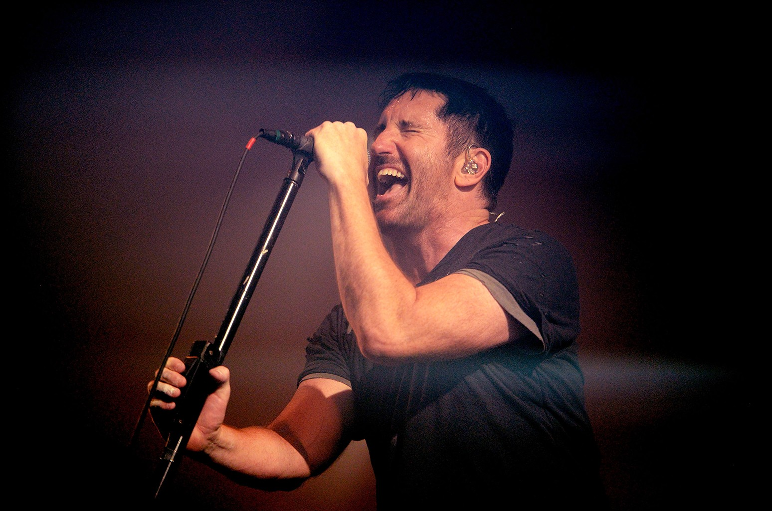Trent Reznor of Nine Inch Nails performs during FYF Fest on July 23, 2017 in Los Angeles.