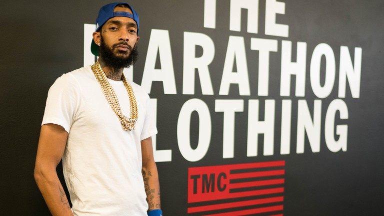 Nipsey Hussle Explains His Marathon Clothing 'Smart' Store on ...