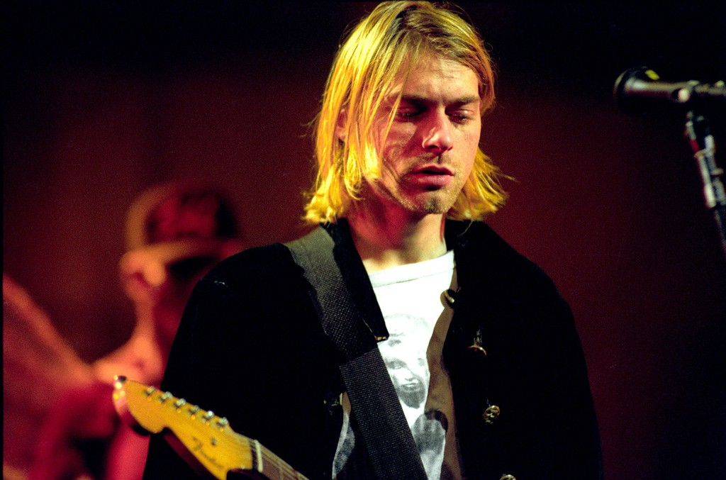 Kurt Cobain of Nirvana in 1993