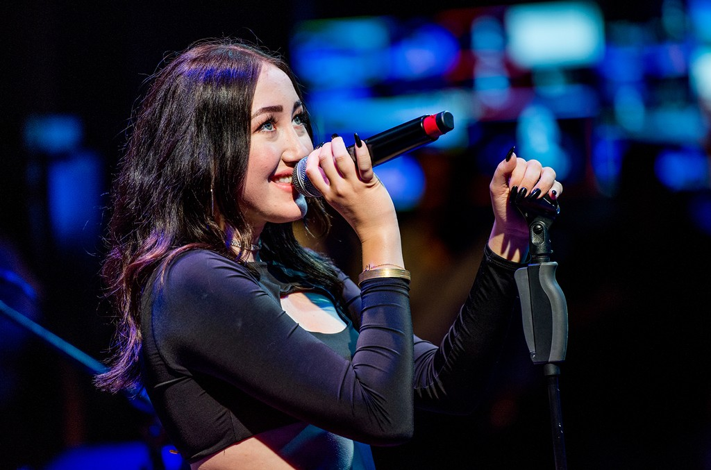 Noah Cyrus performs at Samsung 837 on Aug. 3, 2017 in New York City.