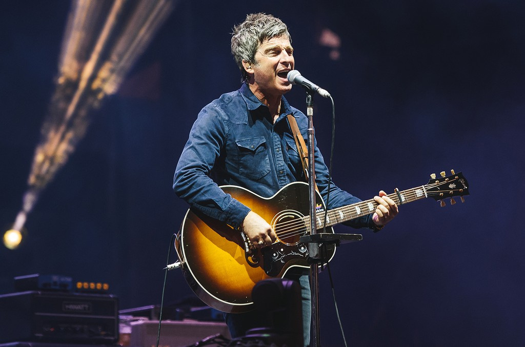 Noel Gallagher performs on Day 6 at the Sziget Festival 2016 on Aug. 15, 2016 in Budapest, Hungary.