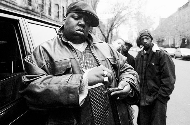 Notorious B.I.G., 1995.