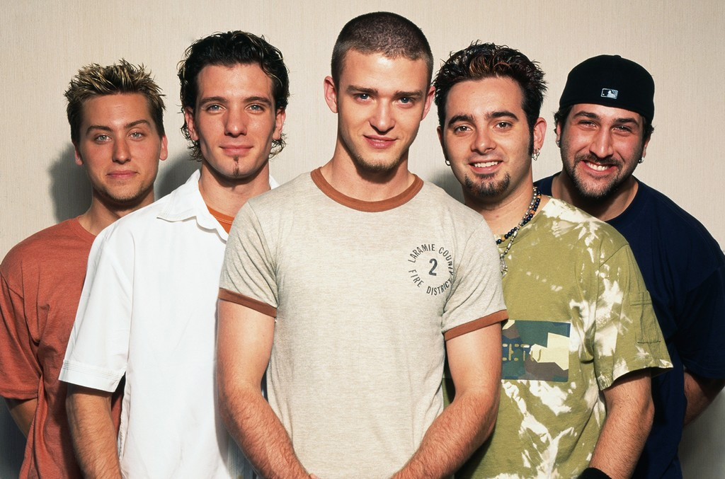 'N Sync photographed in 2001.