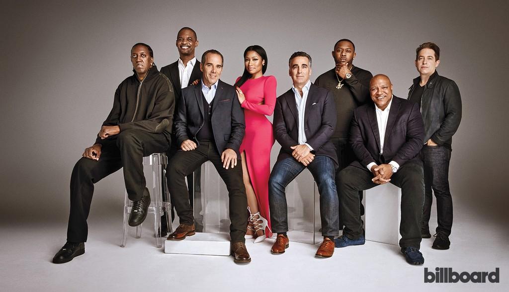 "Ronald ""Slim"" Williams, Gee Roberson, Monte Lipman, Nicki Minaj, Avery Lipman, Mack Mane, Vernon Brown & Charlie Walk"