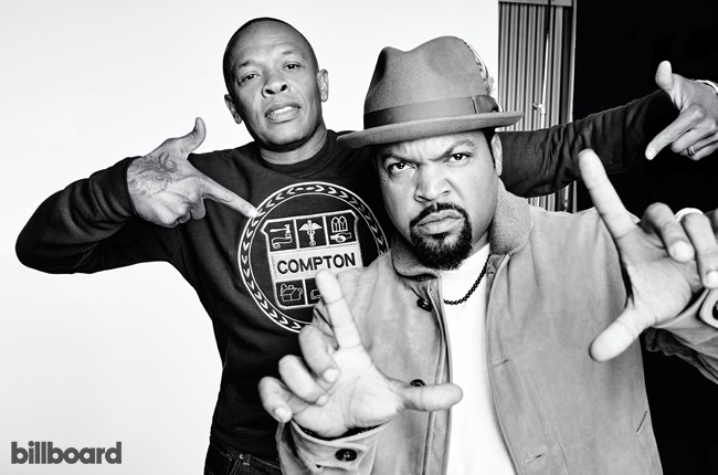 NWA Straight Outta Compton Hollywood Reporter 2015