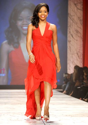 nyfw-fall-2013-red-dress-foundation-gabrielle-douglas-430