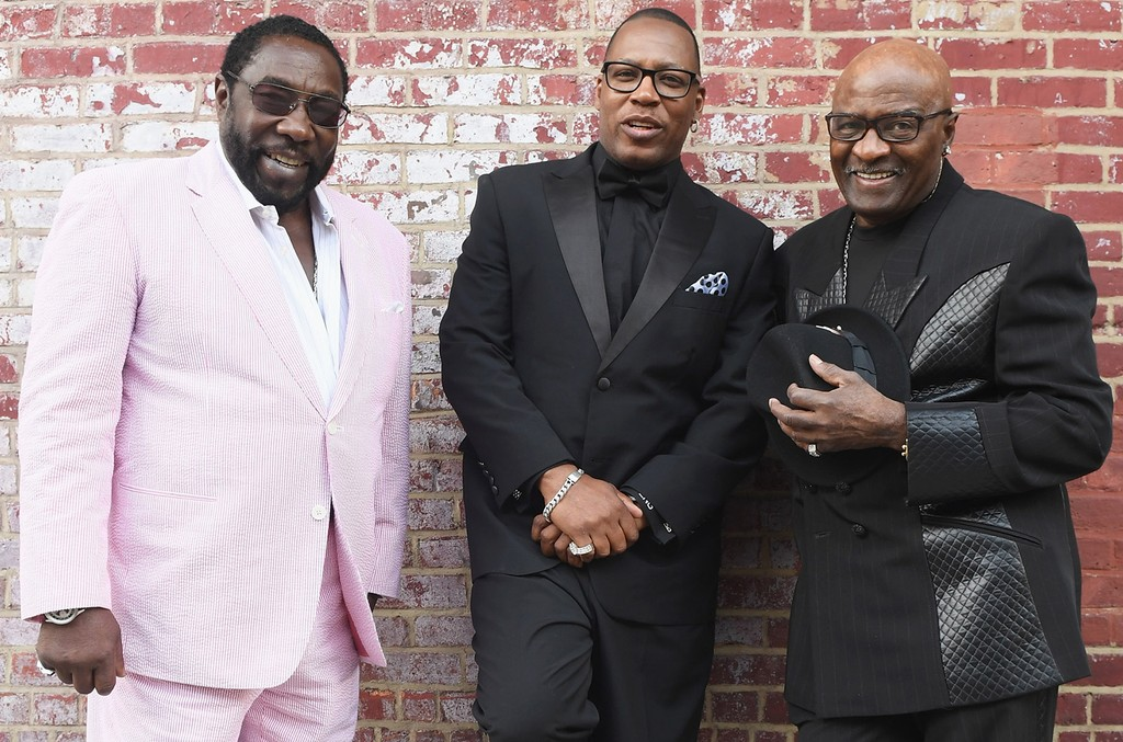 The O'Jays in 2016