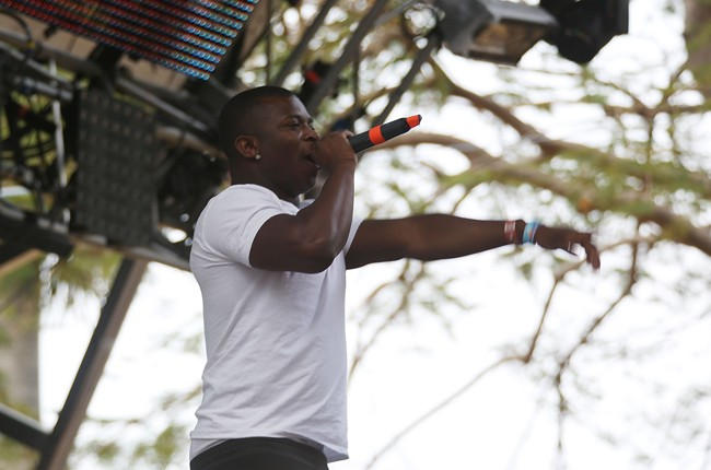 O.T. Genasis performs at Ultra Music Festival