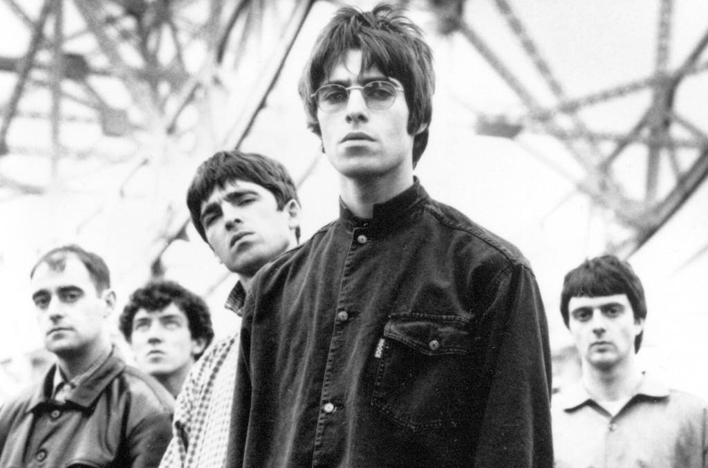 Oasis photographed circa 1994.