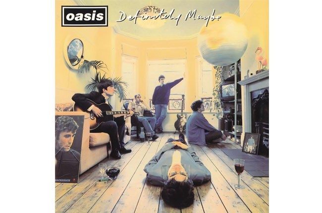 Oasis, Definitely Maybe, 1994.