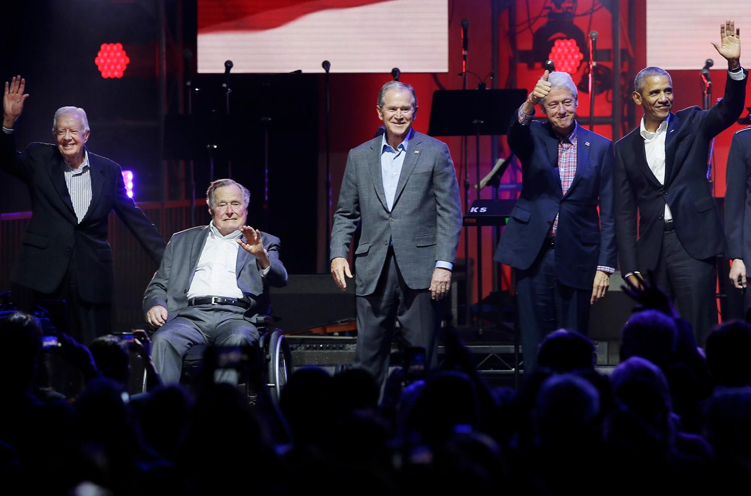 Former Presidents - Hurricane Relief Concert 2017