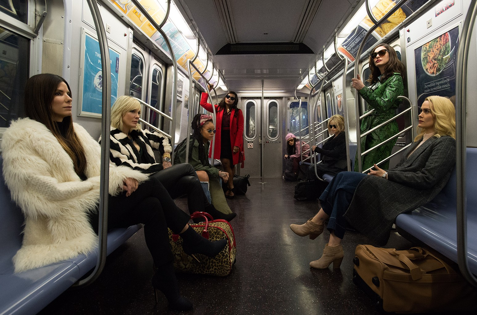 The cast of Ocean's 8