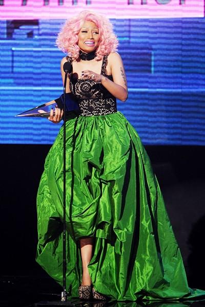 Nicki Minaj at 2011 AMAs