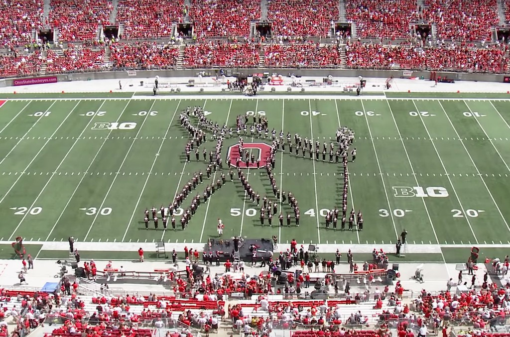 The Ohio State Marching Band