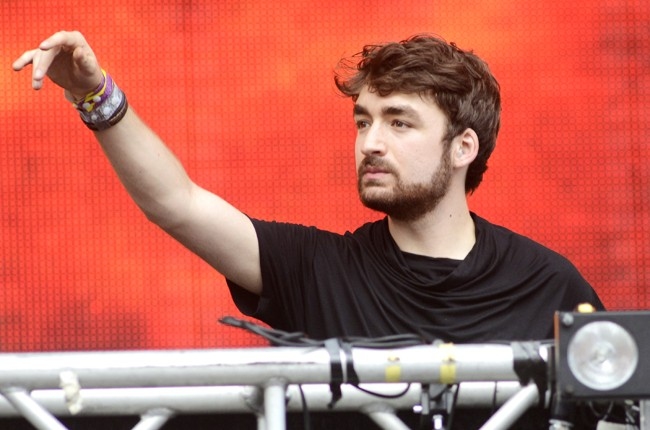 Oliver Heldens performs during the Ultra Music Festival 2015