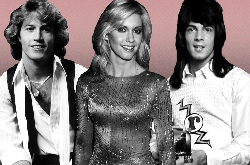 Andy Gibb, Olivia Newton-John and Rick Springfield