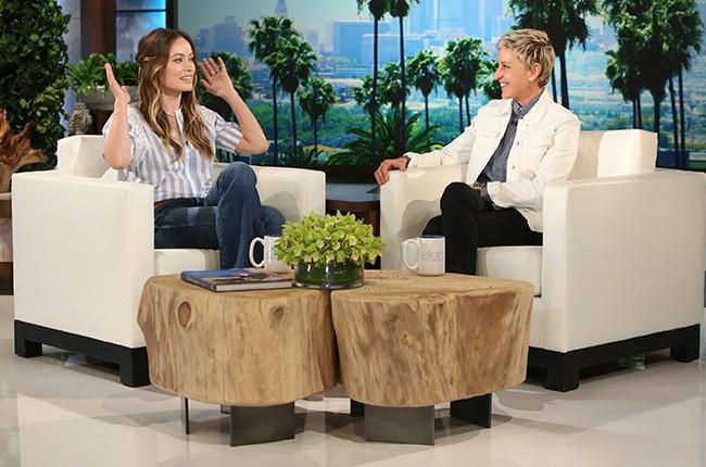 Olivia Wilde on The Ellen DeGeneres Show