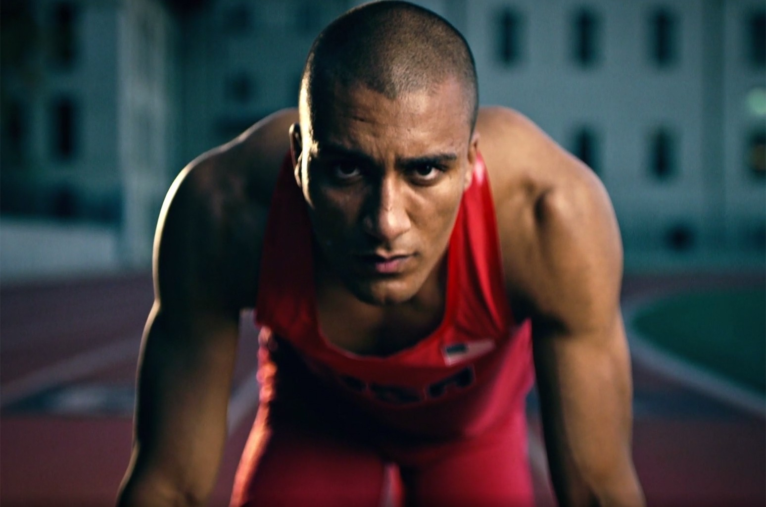 "The video for NBC's Olympics video for ""Rise"""