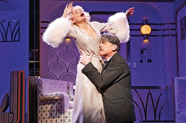 """""""On the 20th Century,"""" starring Kristin Chenoweth and Peter Gallagher"""