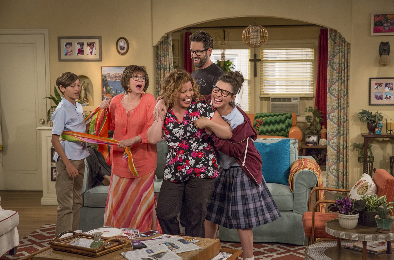 The cast of One Day at a Time.