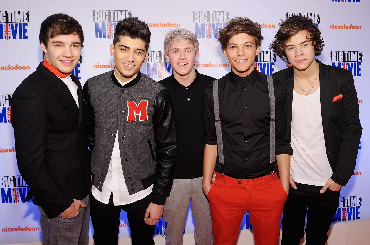 """One Direction attend Nickelodeon Hosts Orange Carpet Premiere For Original TV Movie """"Big Time Movie"""" Starring Big Time Rush at 583 Park Avenue on March 8, 2012 in New York City."""