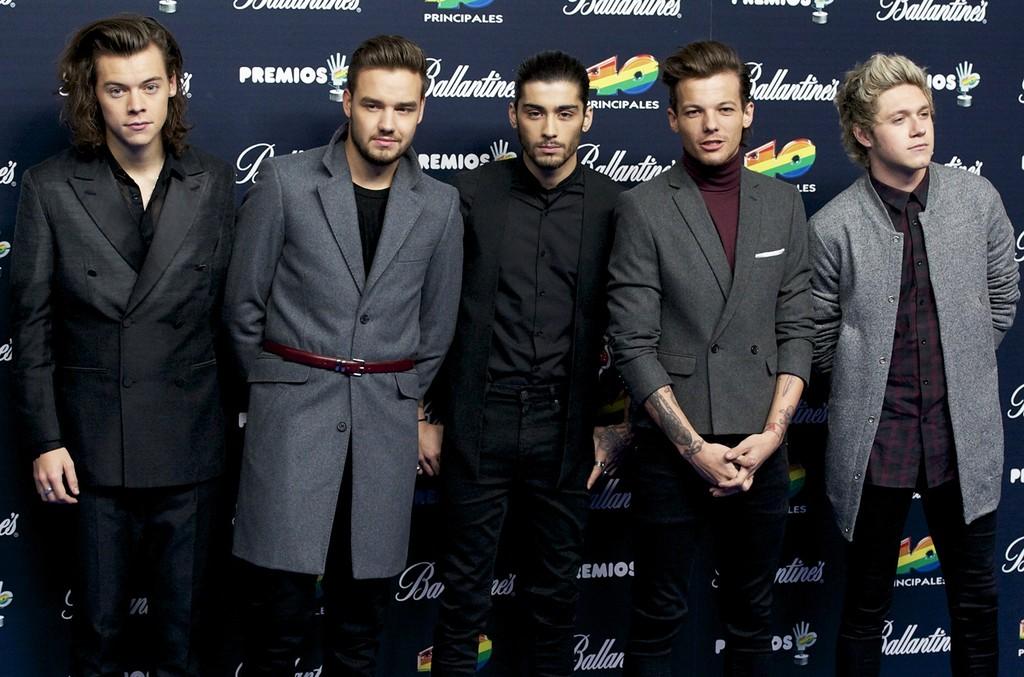 One Direction at Palacio de los Deportes on Dec. 12, 2014 in Madrid, Spain.