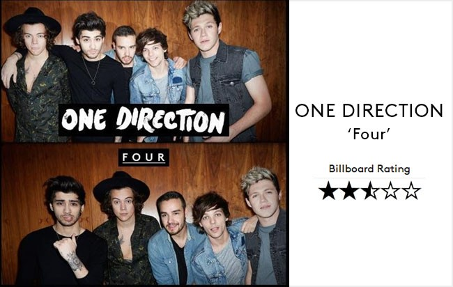 One Direction--Four Album Review BB39