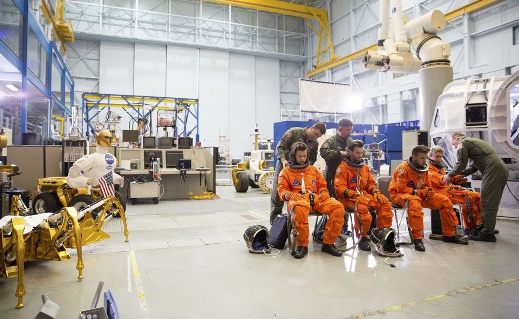 One Direction at NASA's Johnson Space Center