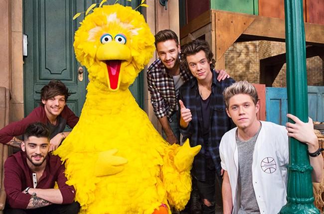 One Direction on Sesame Street